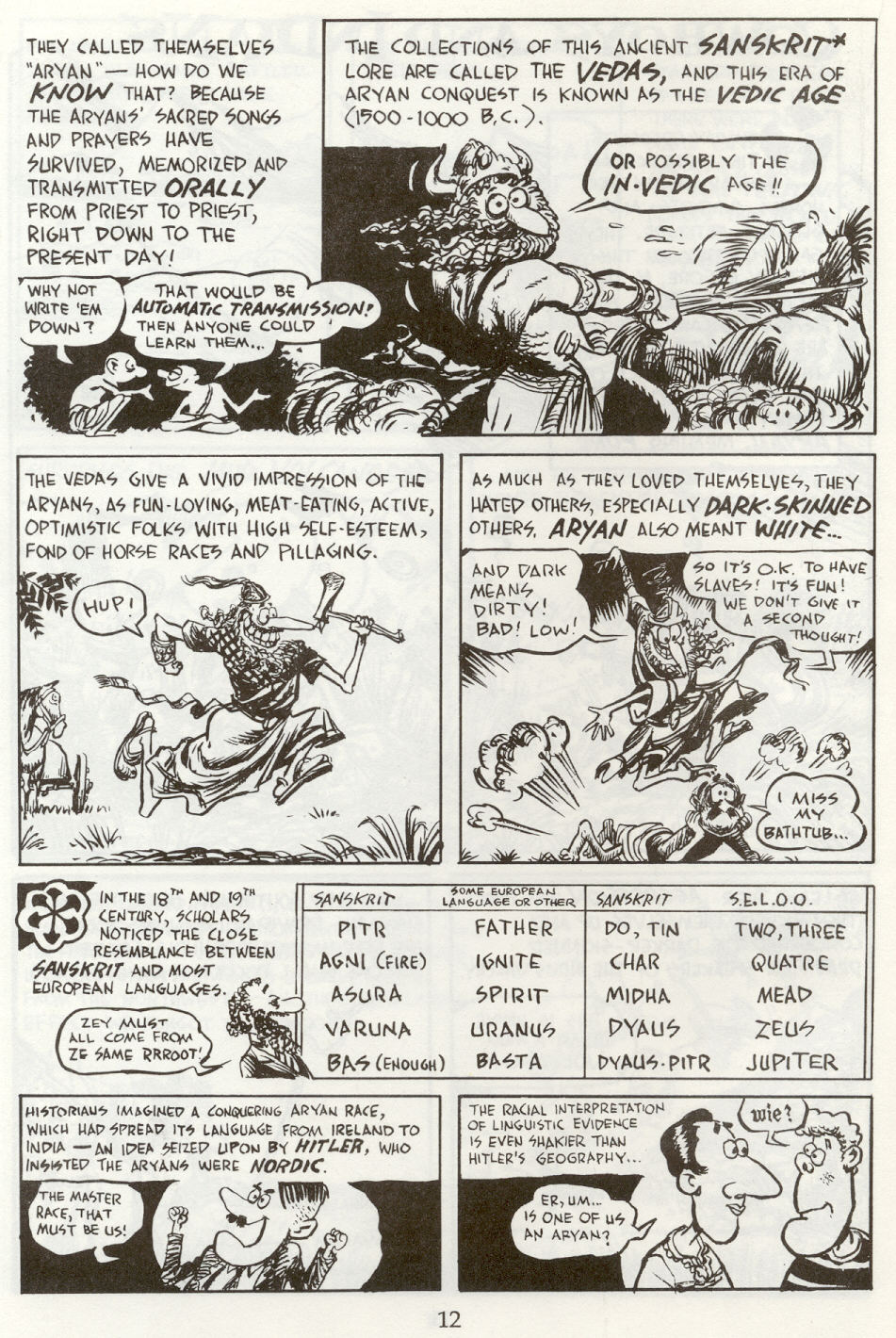 Read online The Cartoon History of the Universe comic -  Issue #8 - 15