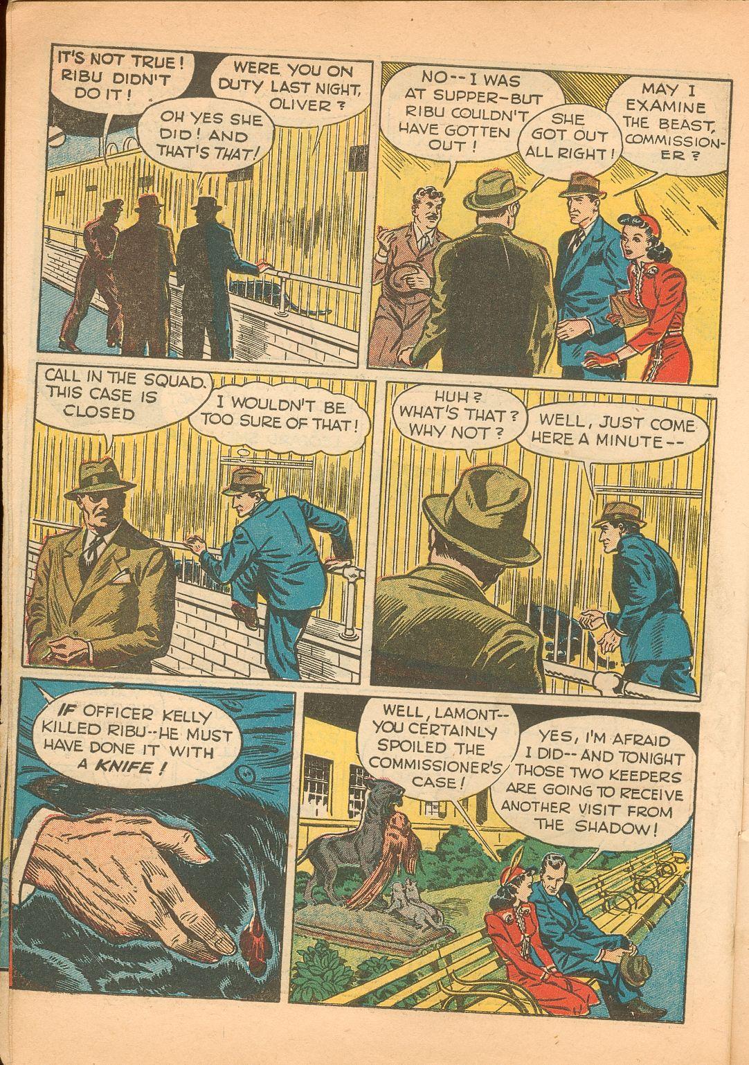 Read online Shadow Comics comic -  Issue #11 - 10