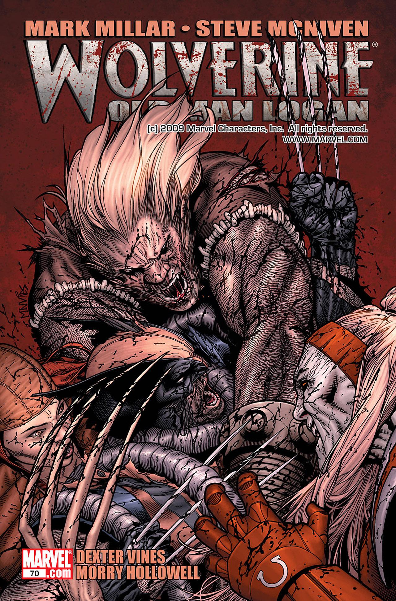 Read online Wolverine: Old Man Logan comic -  Issue # Full - 92