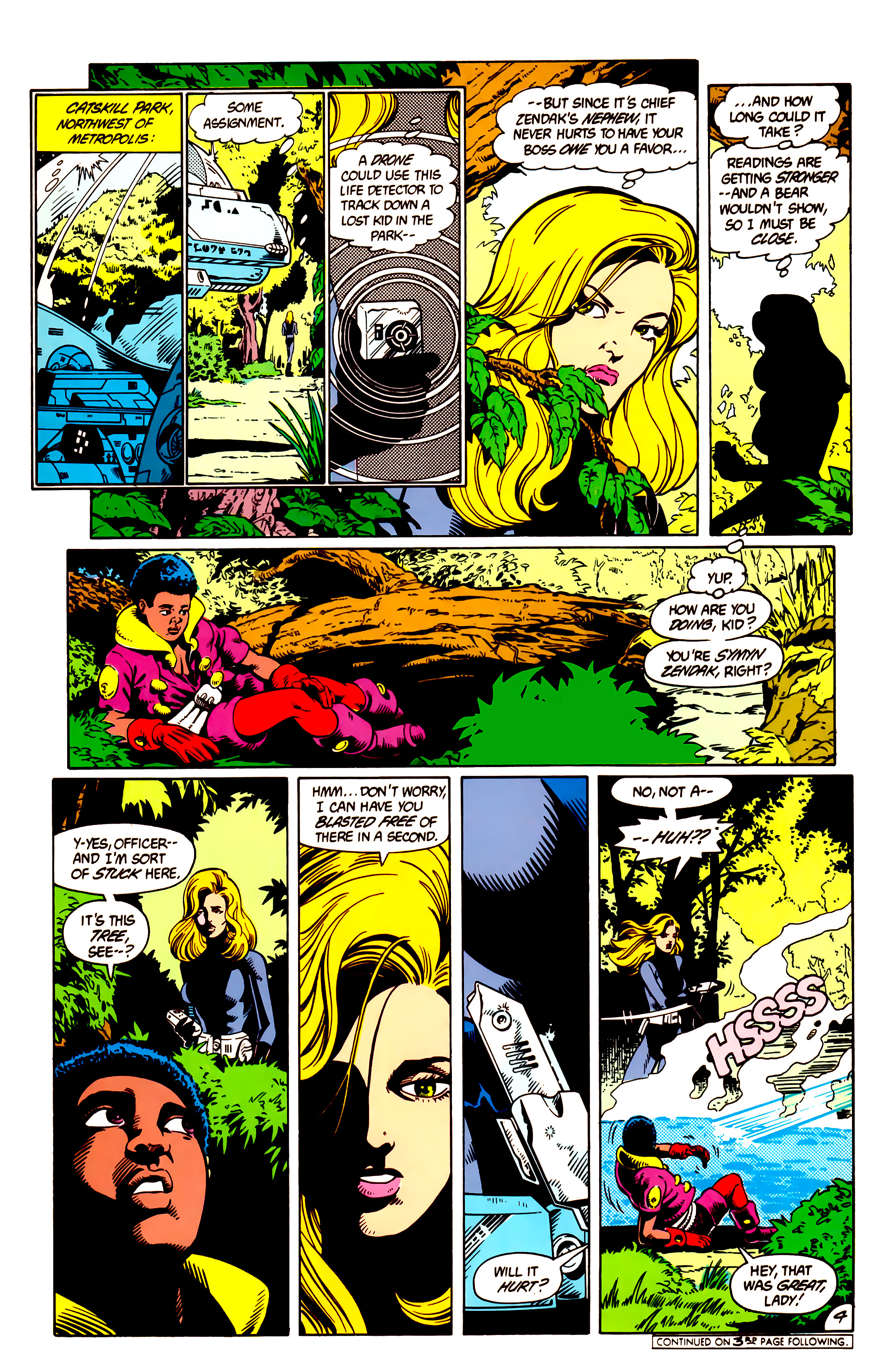 Legion of Super-Heroes (1984) 9 Page 5
