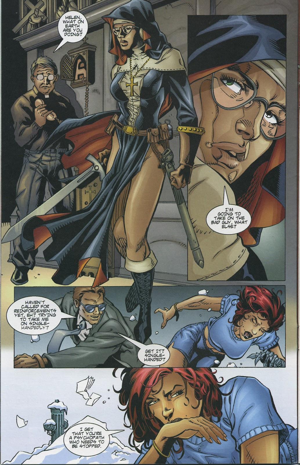 Warrior Nun Areala (1997) Issue #4 #4 - English 10