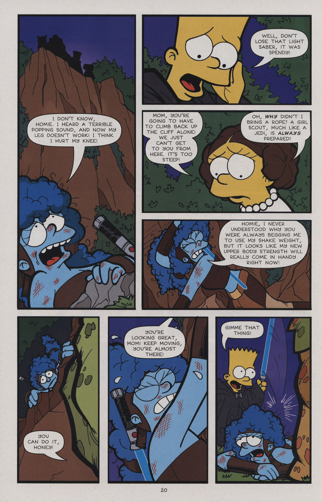 Read online Treehouse of Horror comic -  Issue #17 - 23