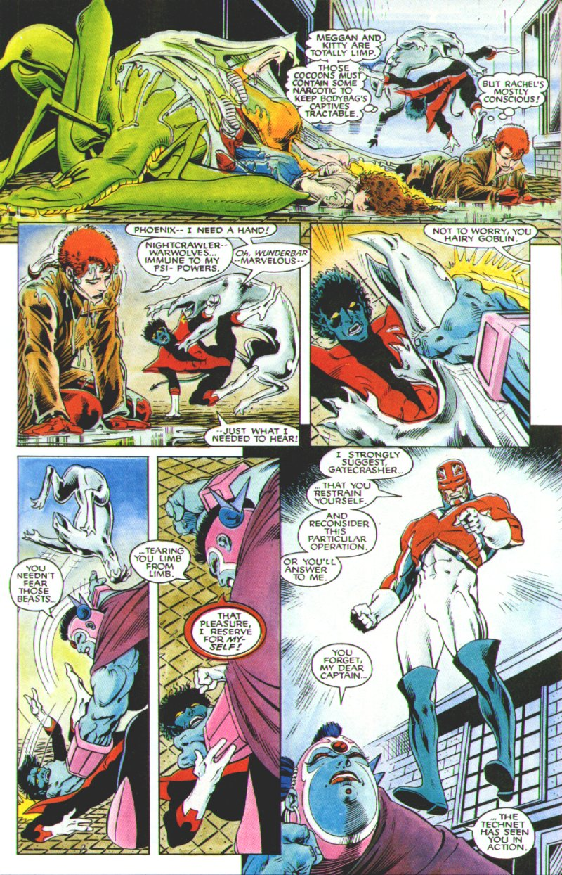 Read online Excalibur: The Sword is Drawn comic -  Issue # Full - 39