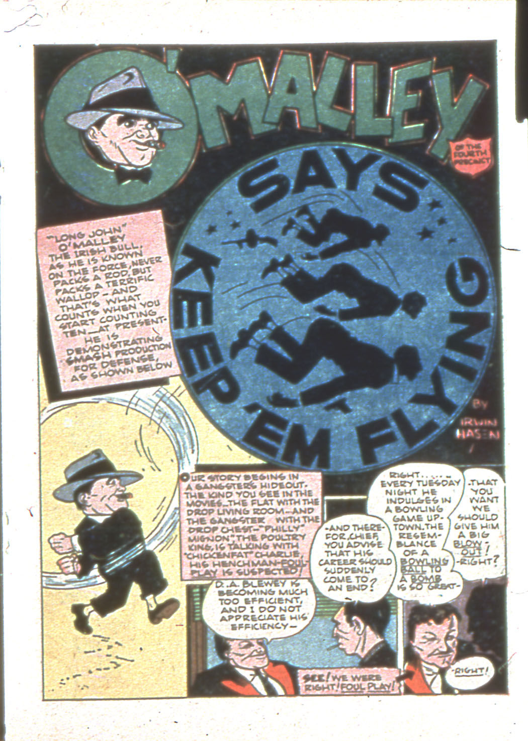 Read online Sensation (Mystery) Comics comic -  Issue #6 - 33