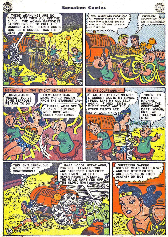 Read online Sensation (Mystery) Comics comic -  Issue #64 - 12