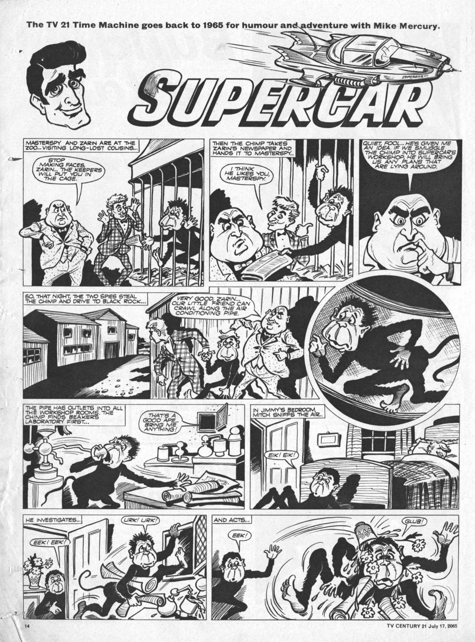 Read online TV Century 21 (TV 21) comic -  Issue #26 - 13