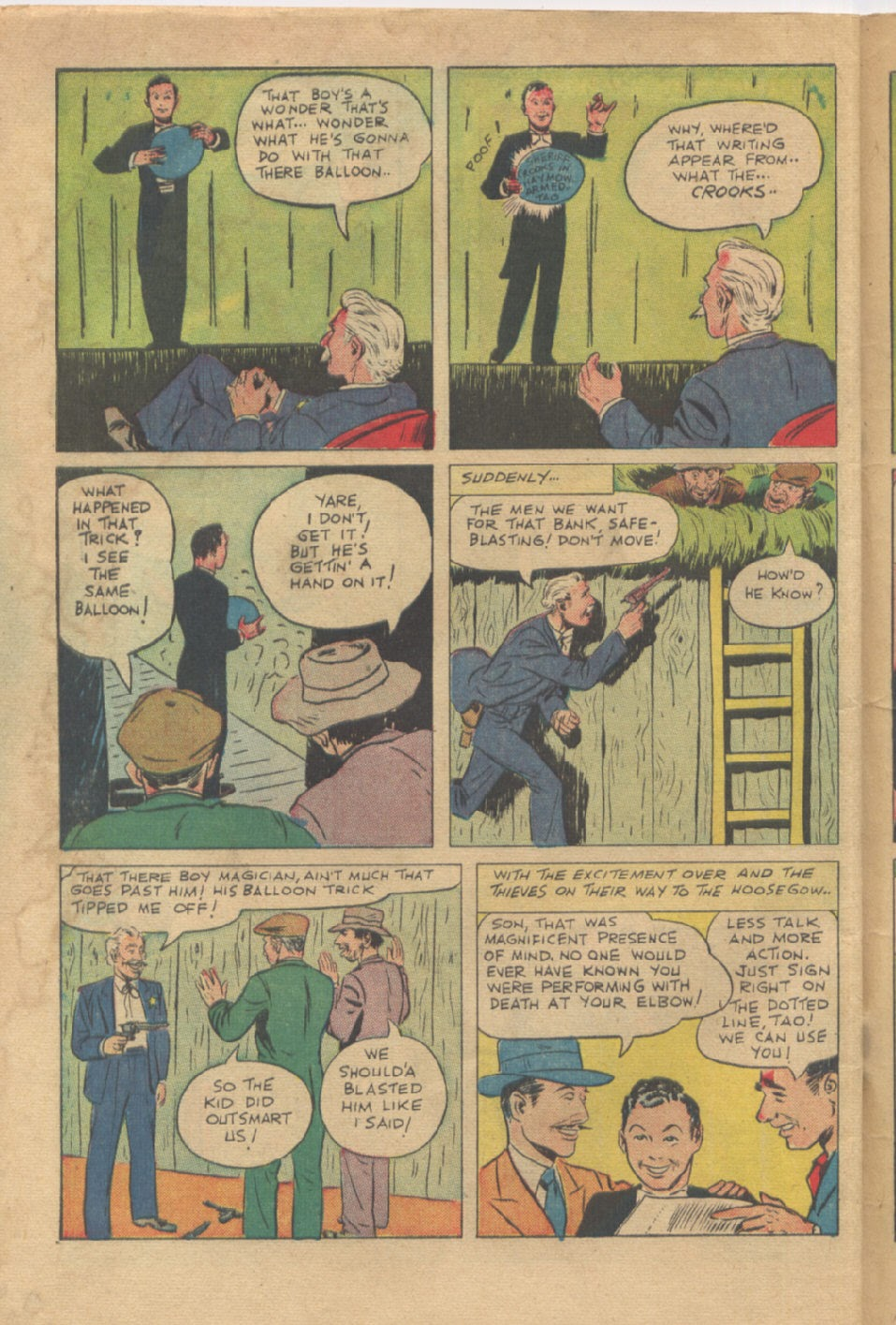 Super-Magician Comics issue 53 - Page 48