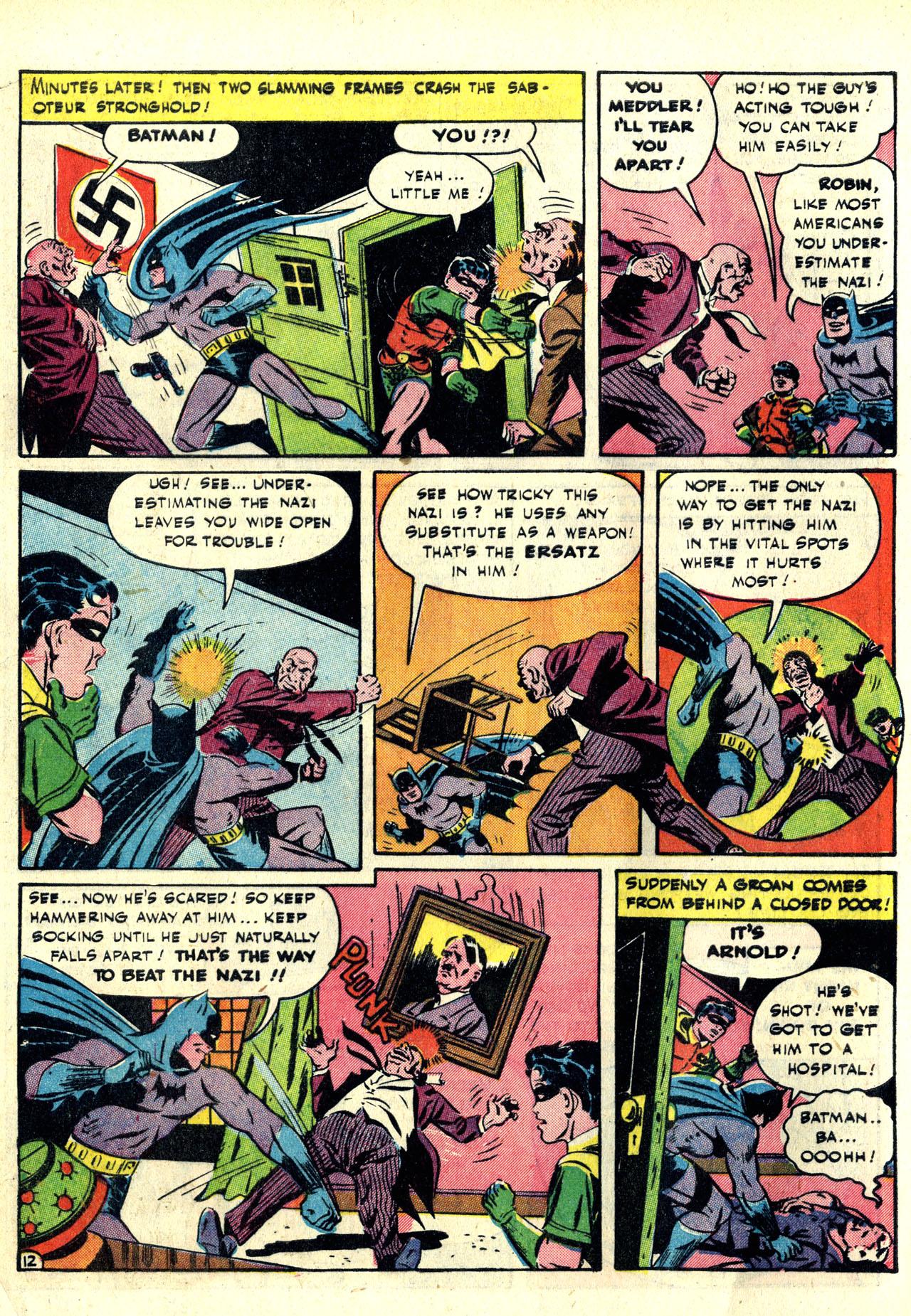 Read online Detective Comics (1937) comic -  Issue #78 - 14