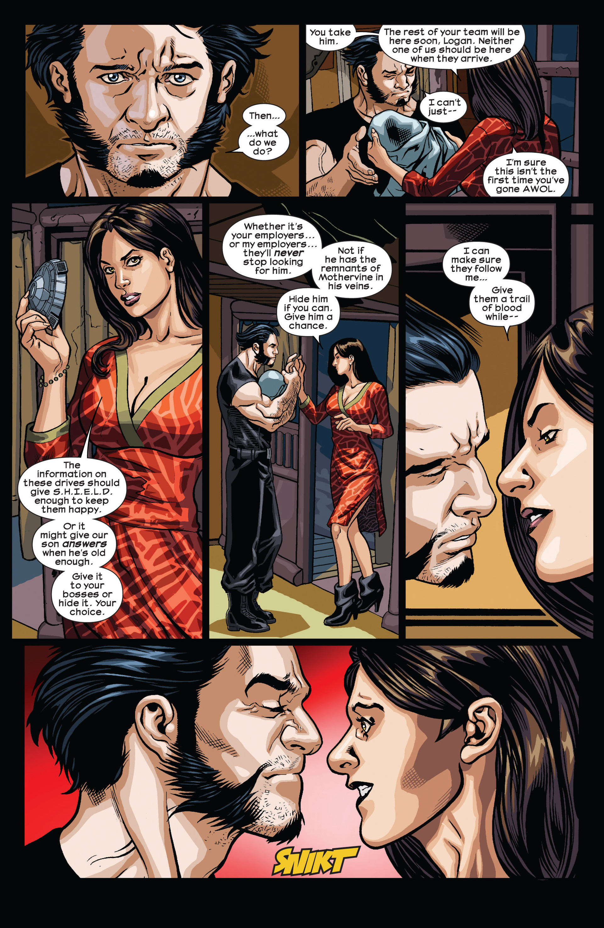 Read online Ultimate Comics Wolverine comic -  Issue #4 - 6