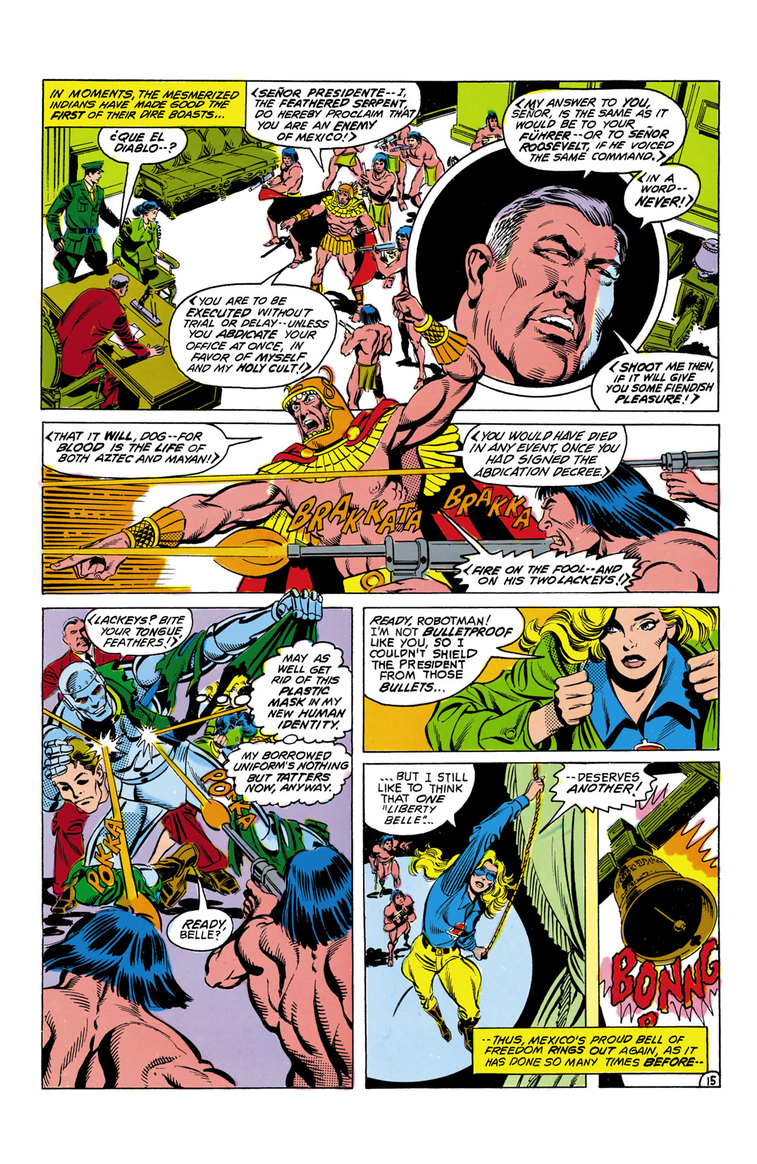 Read online All-Star Squadron comic -  Issue #6 - 16