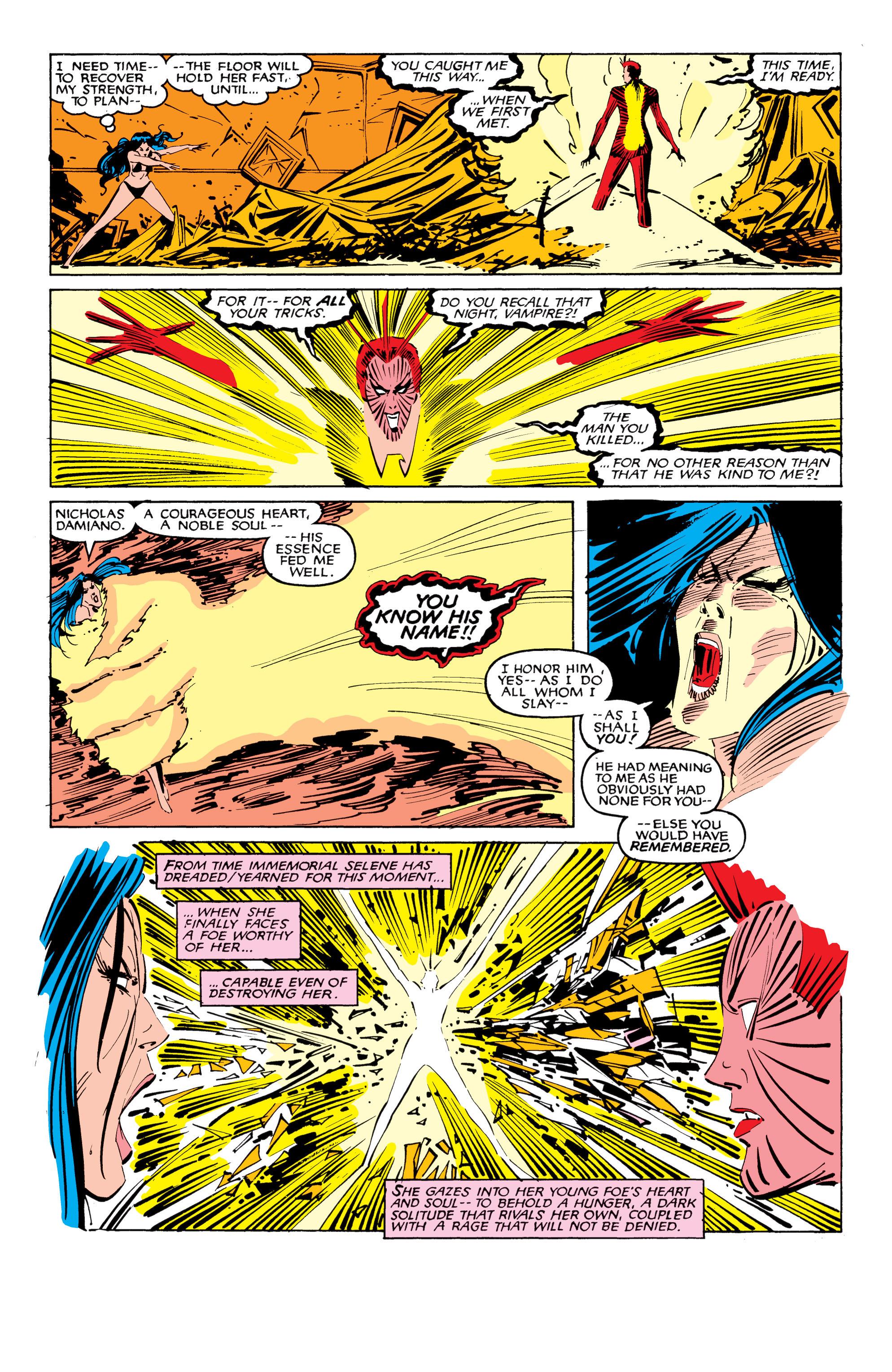 Read online Uncanny X-Men (1963) comic -  Issue #207 - 22
