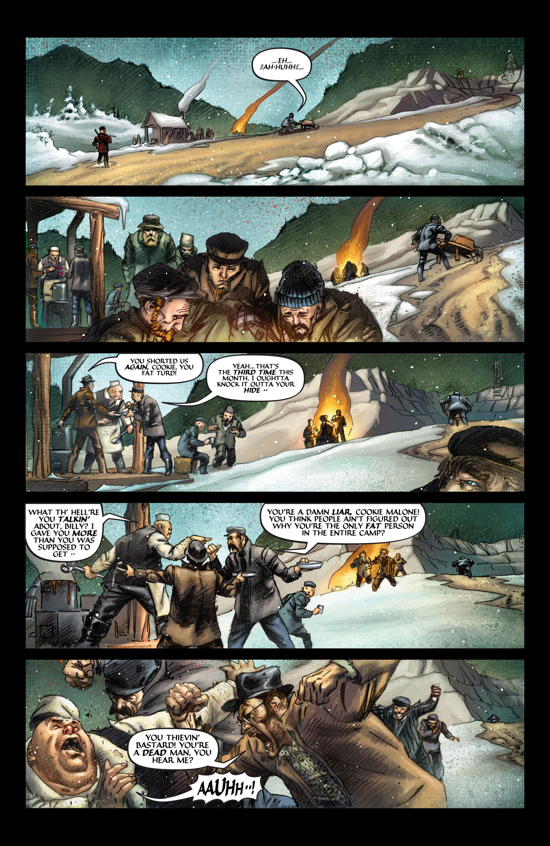 Read online Wolverine: The Origin comic -  Issue #4 - 3