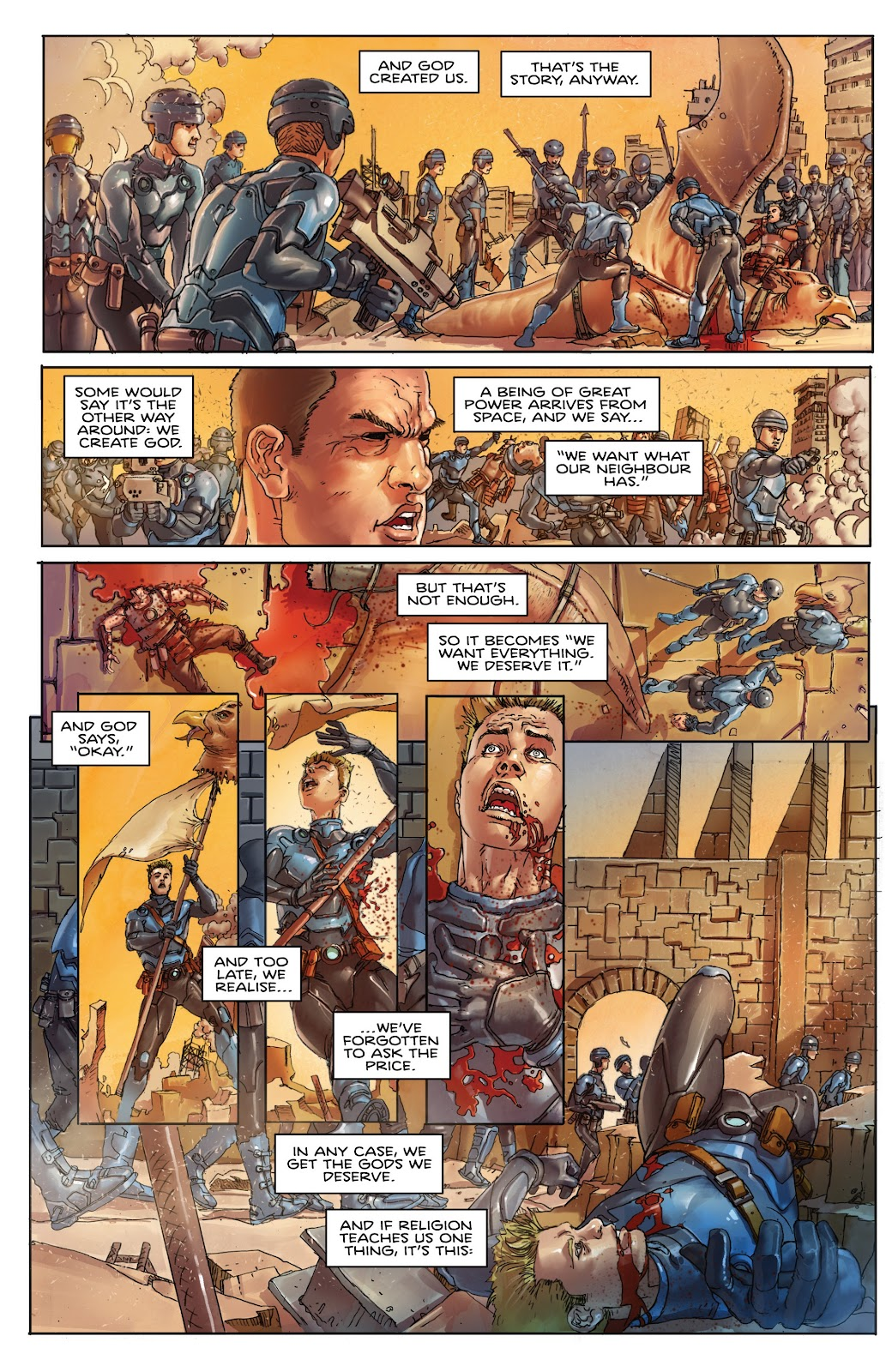 Read online Taarna comic -  Issue #4 - 3