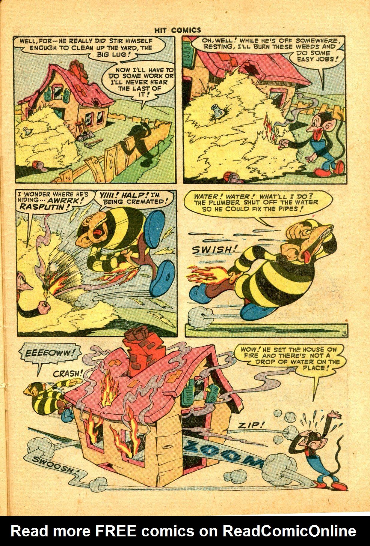 Read online Hit Comics comic -  Issue #49 - 47