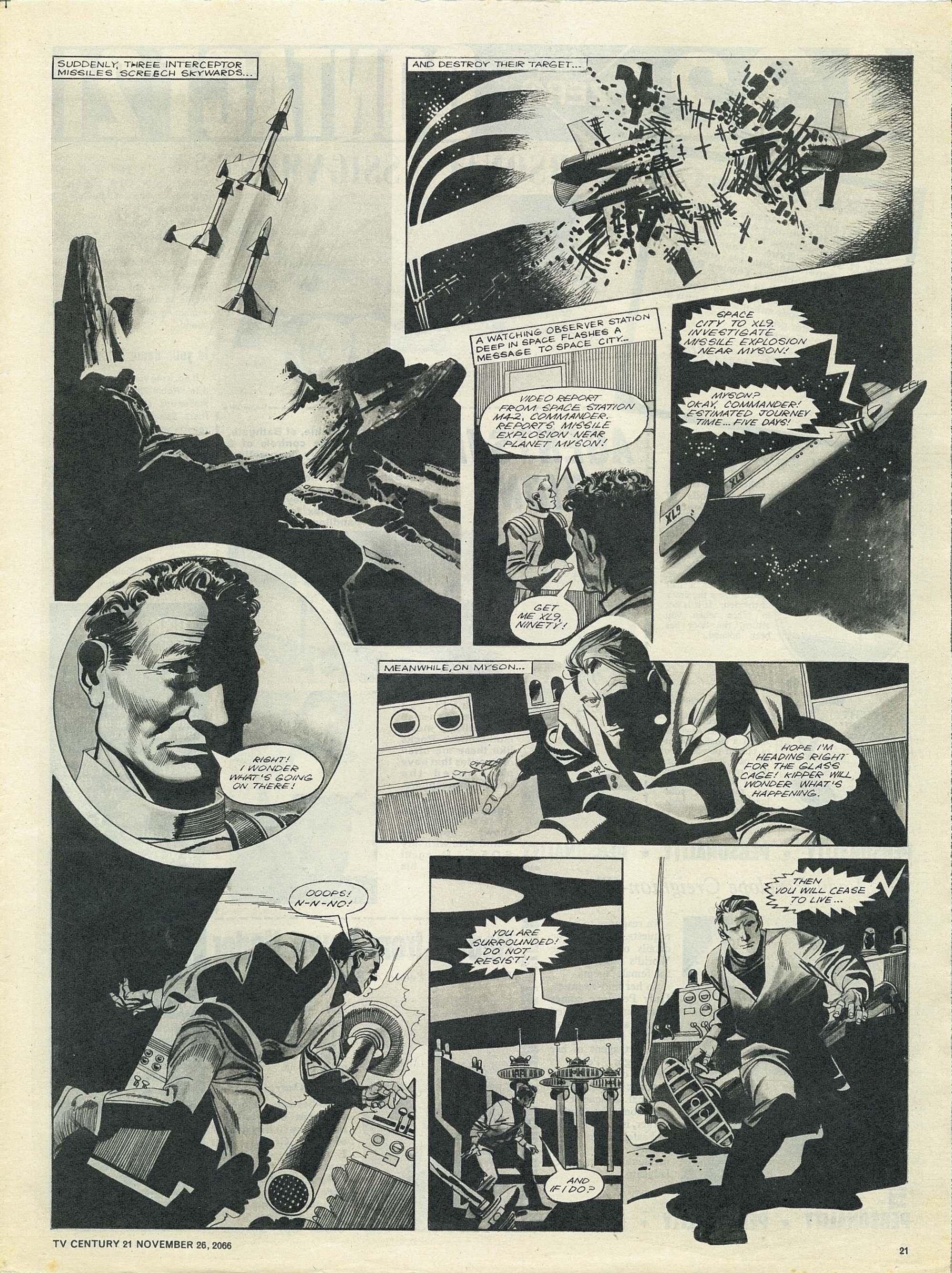 Read online TV Century 21 (TV 21) comic -  Issue #97 - 20