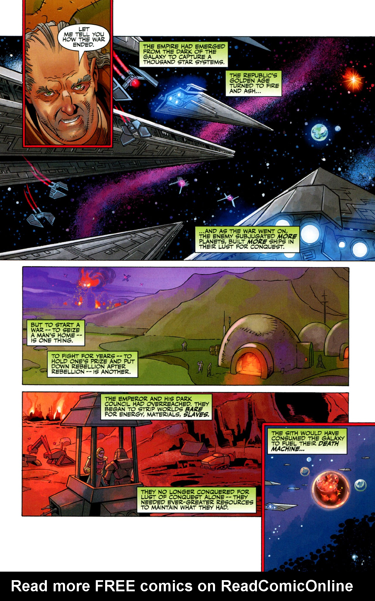 Read online Star Wars: The Old Republic - The Lost Suns comic -  Issue #2 - 3