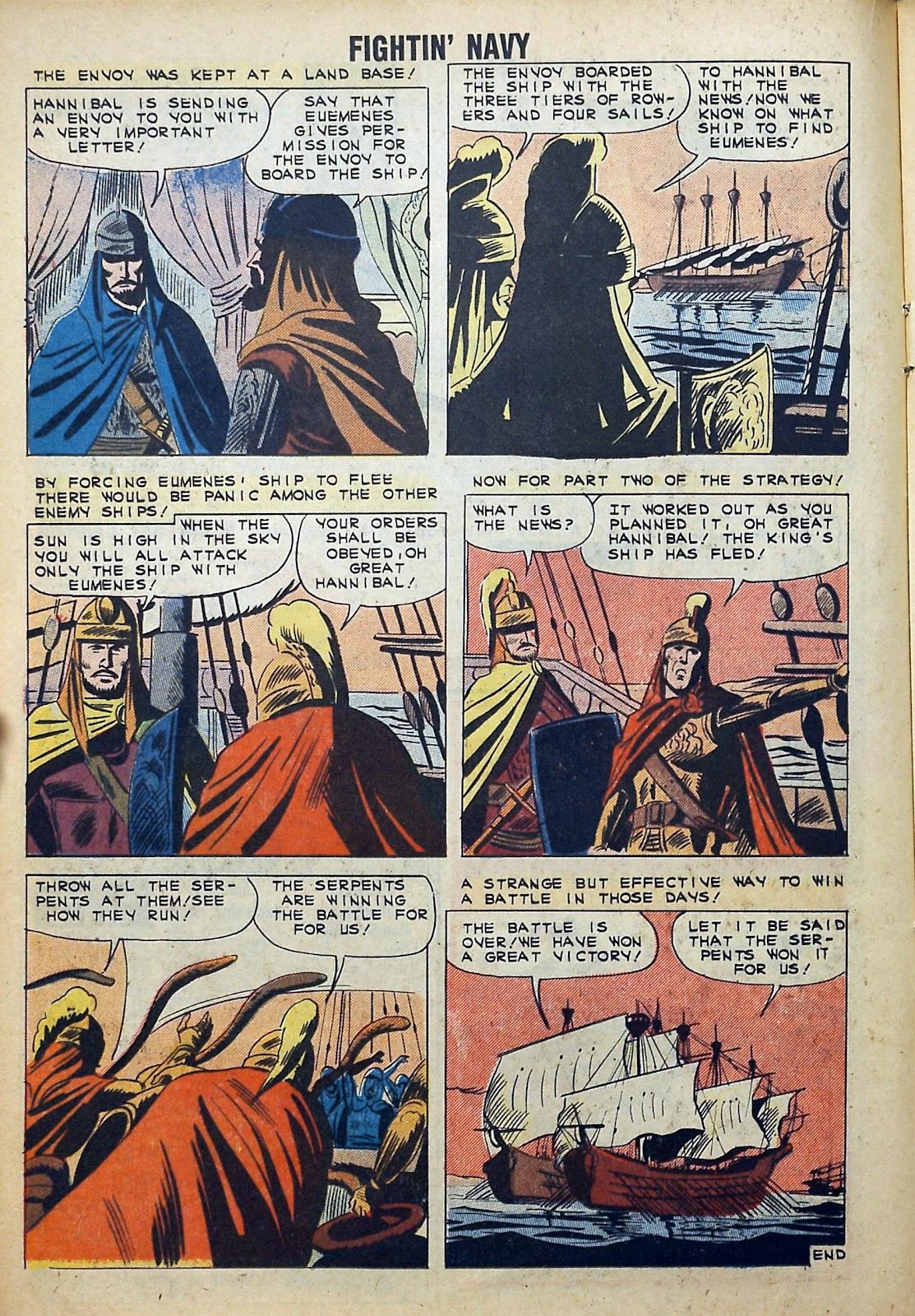Read online Fightin' Navy comic -  Issue #99 - 16