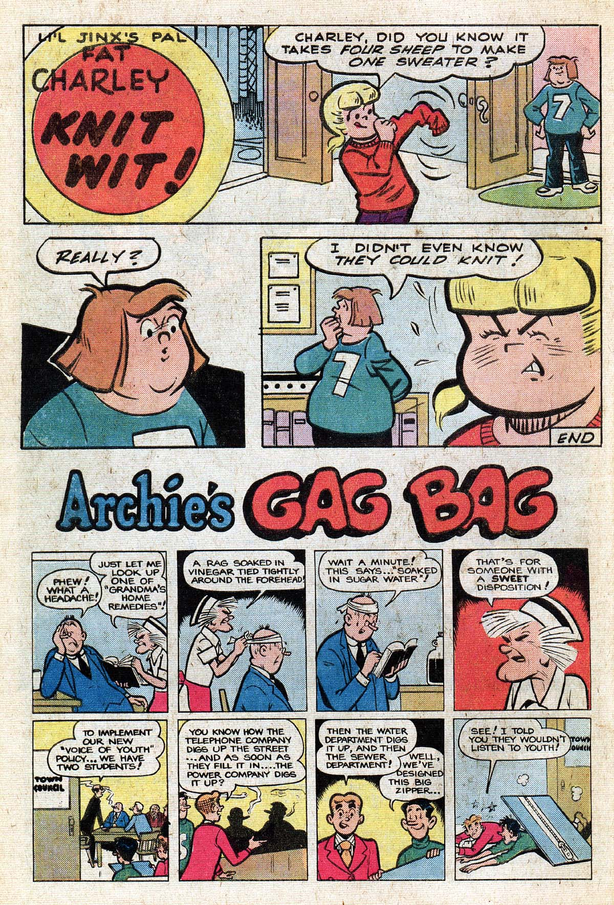Read online Archie (1960) comic -  Issue #267 - 10