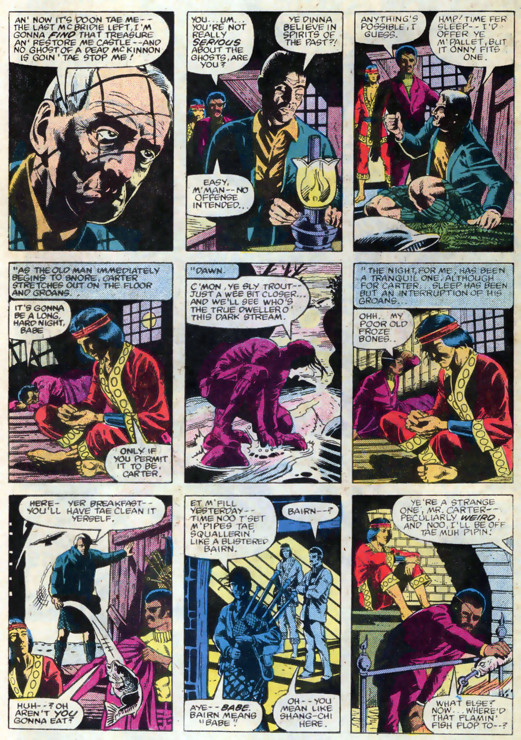 Read online Master of Kung Fu (1974) comic -  Issue #120 - 11