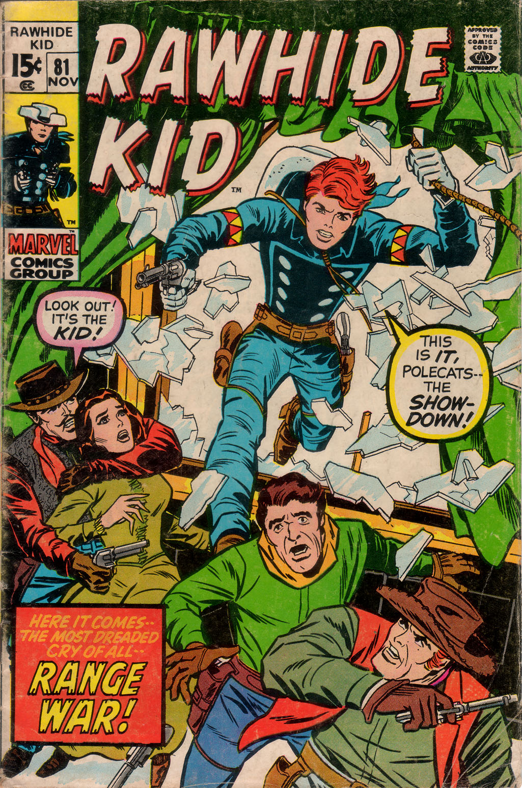 The Rawhide Kid (1955) issue 81 - Page 1