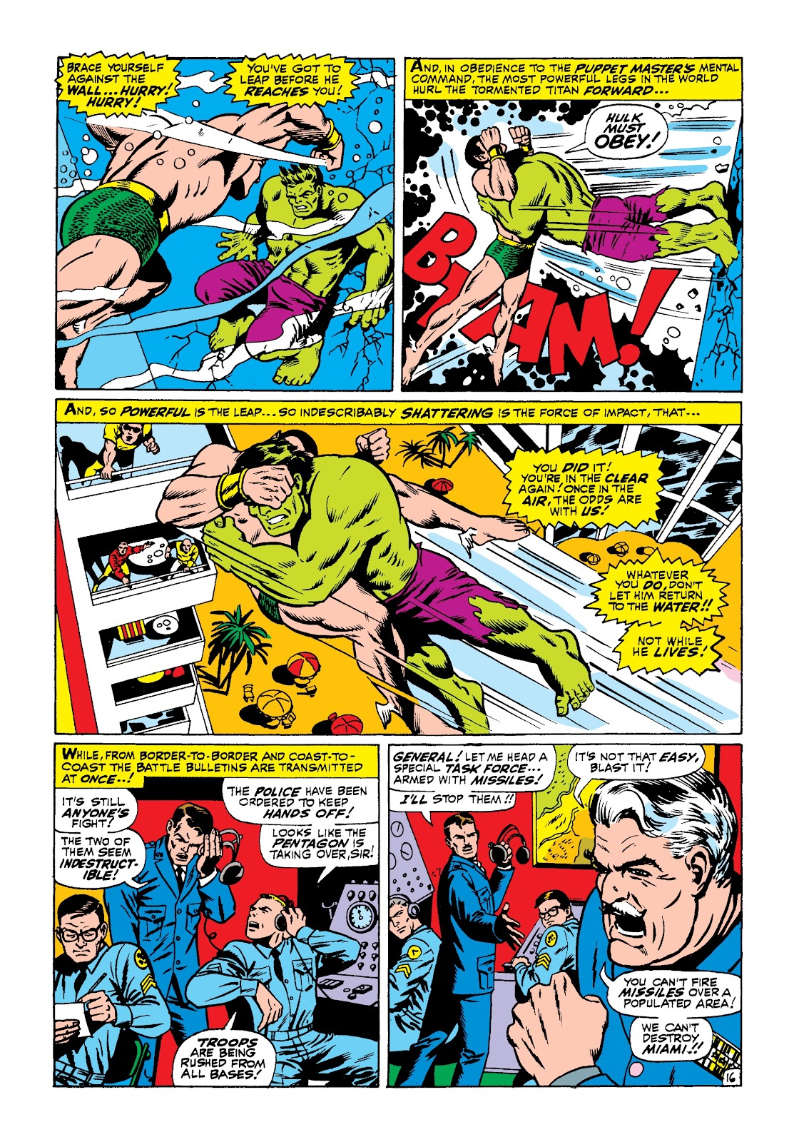 Read online Marvel Masterworks: The Incredible Hulk comic -  Issue # TPB 3 (Part 3) - 44