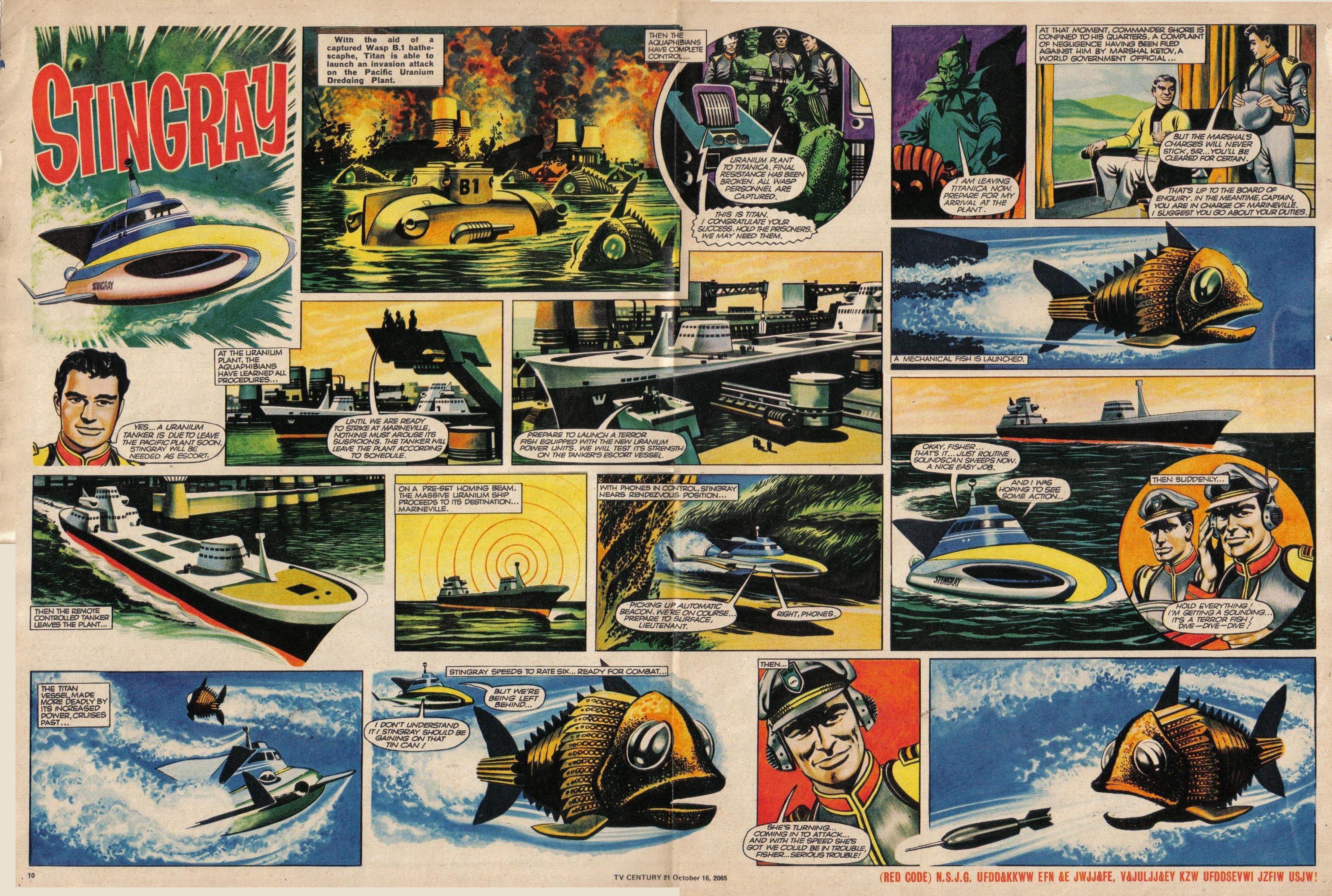 Read online TV Century 21 (TV 21) comic -  Issue #39 - 10