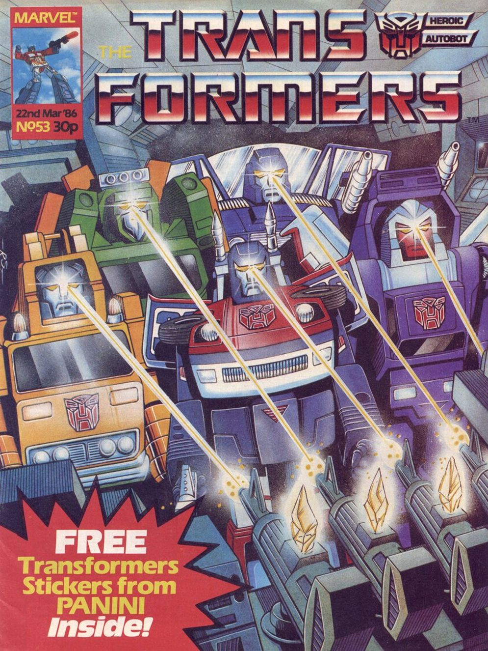 The Transformers (UK) 53 Page 1