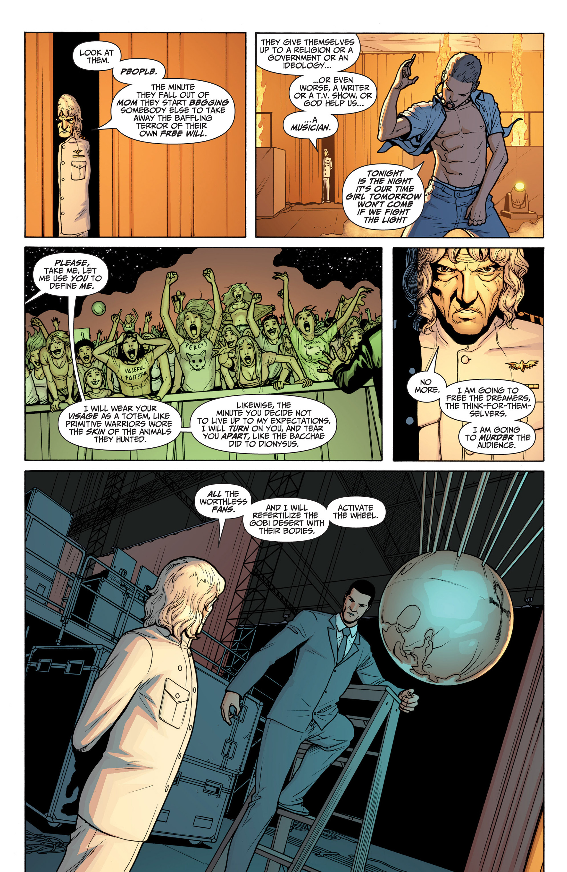 Read online Archer and Armstrong comic -  Issue #23 - 9