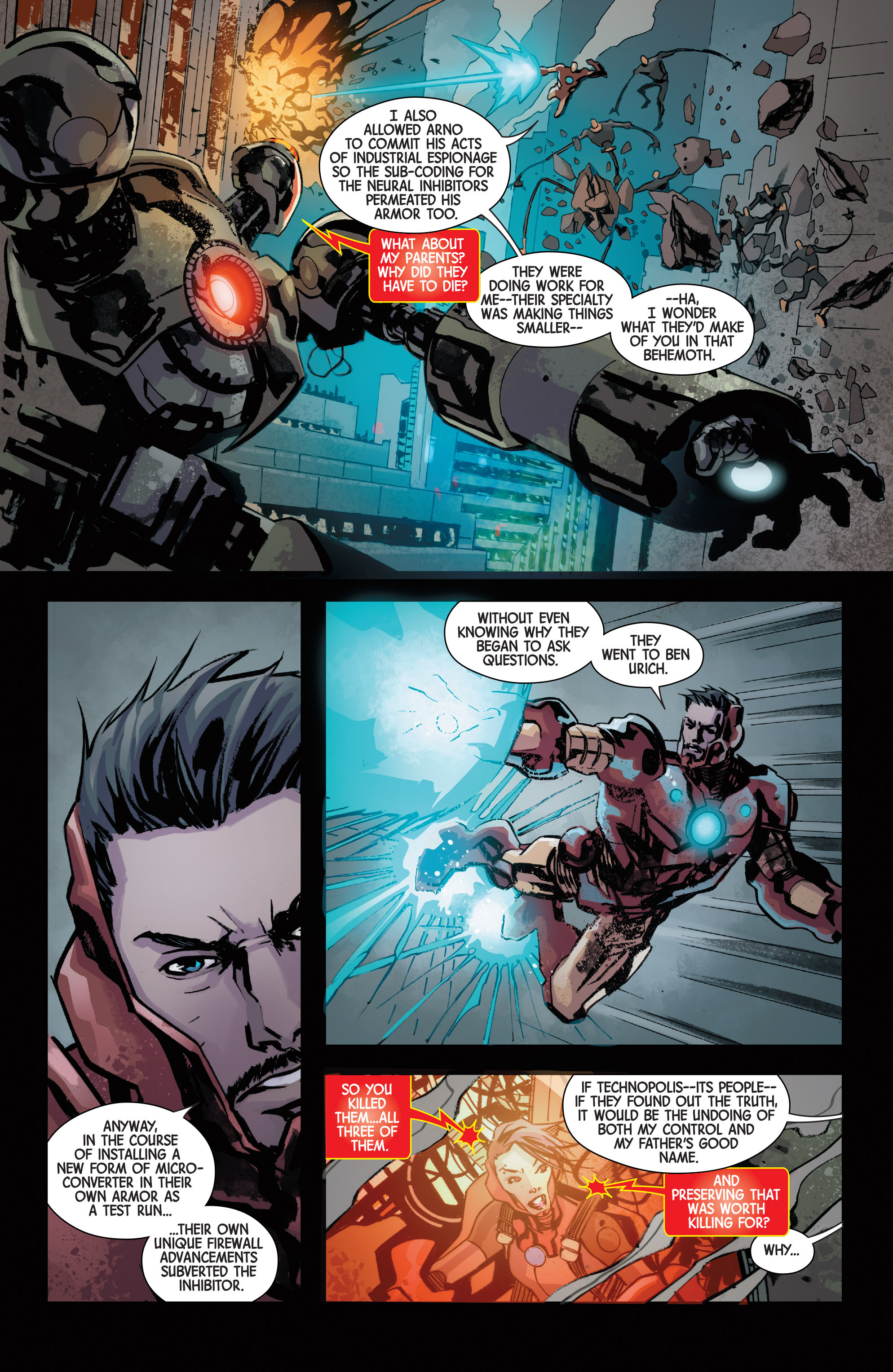 Read online Armor Wars comic -  Issue #5 - 13