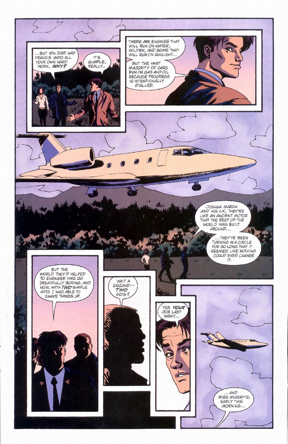 Read online Sleeper comic -  Issue #4 - 23
