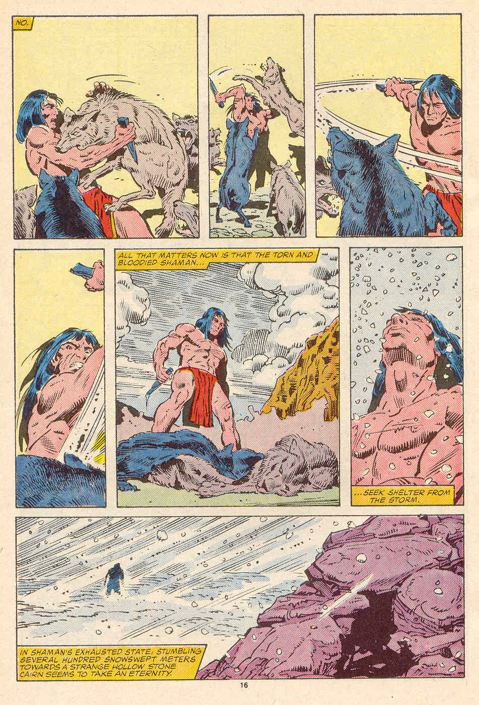 Read online Alpha Flight (1983) comic -  Issue #35 - 17
