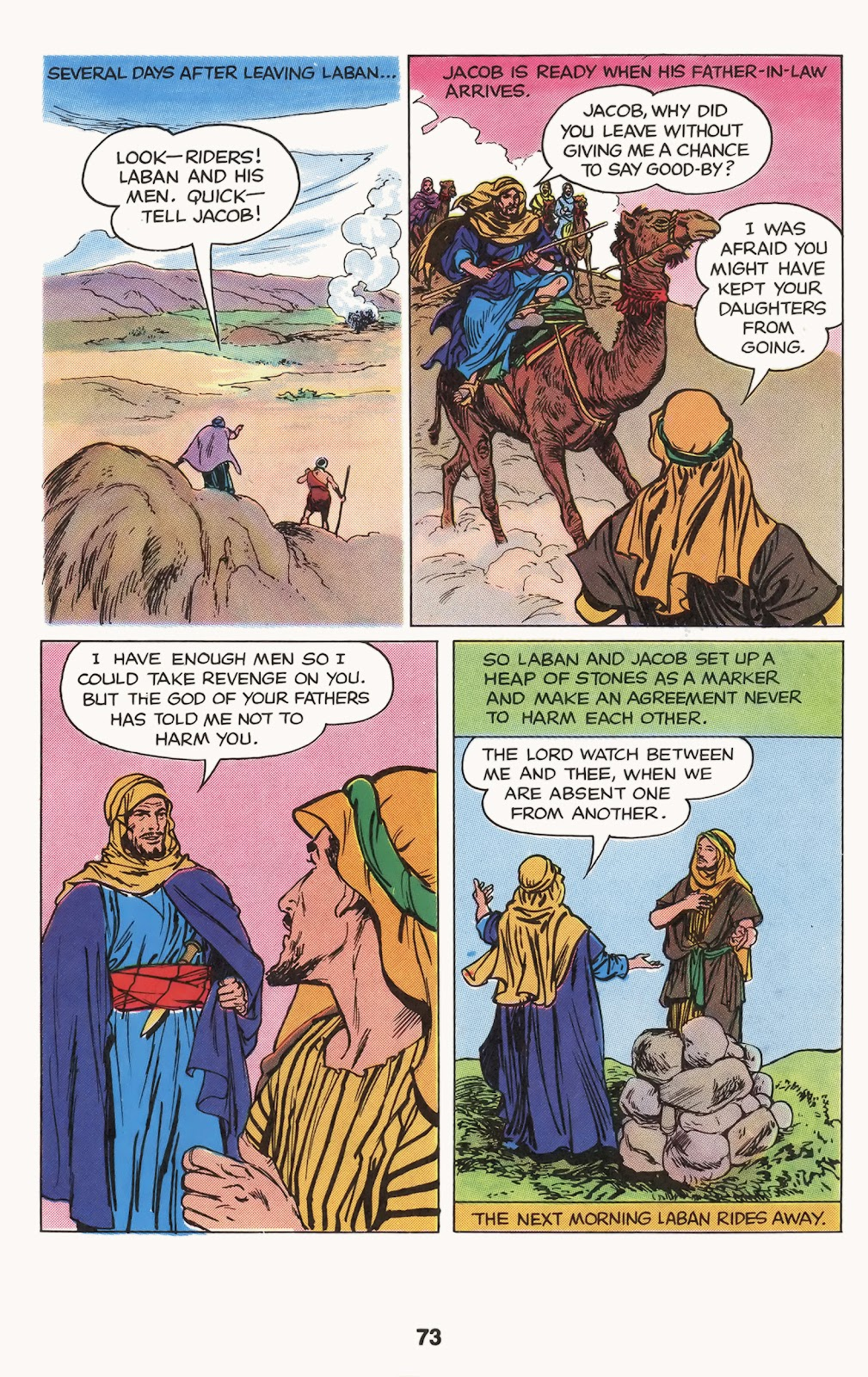 The Picture Bible issue TPB (Part 1) - Page 75