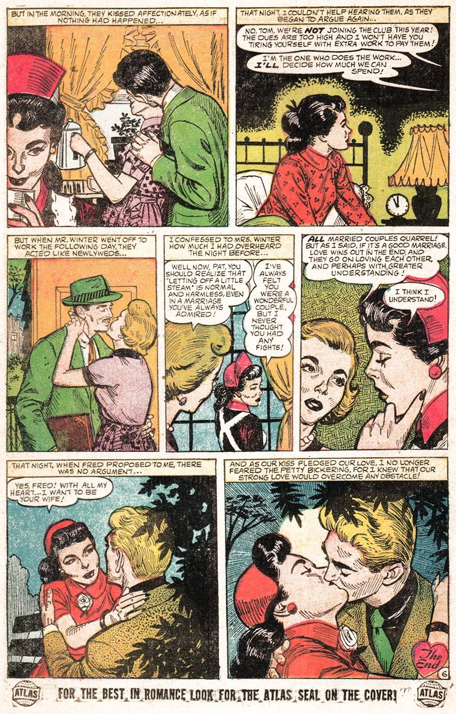 Love Romances (1949) issue 51 - Page 24