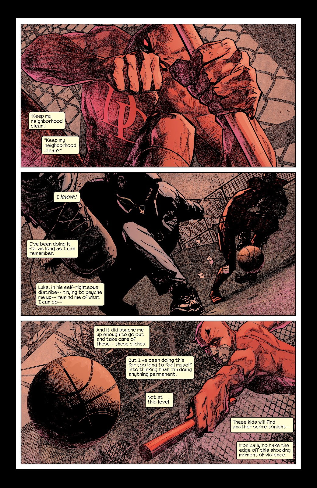 Read online Daredevil (1998) comic -  Issue # _Ultimate_Collection TPB 2 (Part 1) - 69