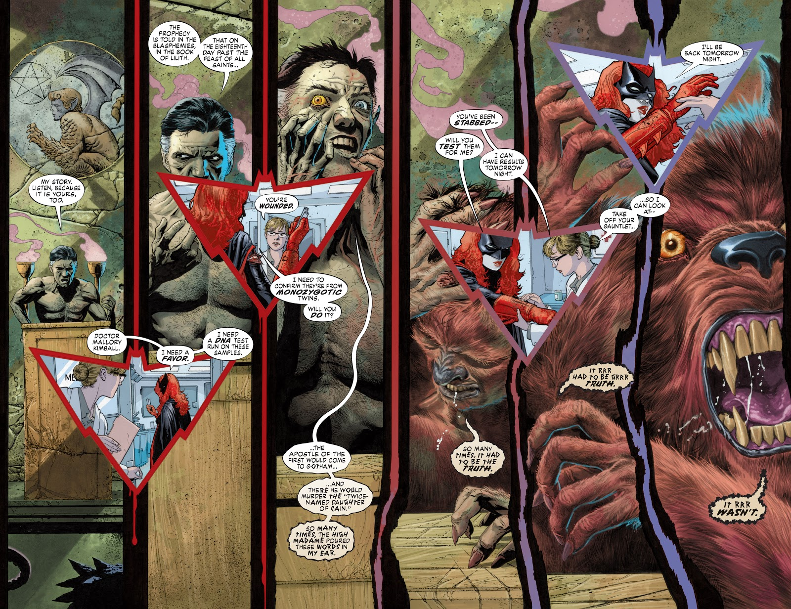 Read online Detective Comics (1937) comic -  Issue # _TPB Batwoman – Elegy (New Edition) (Part 2) - 8