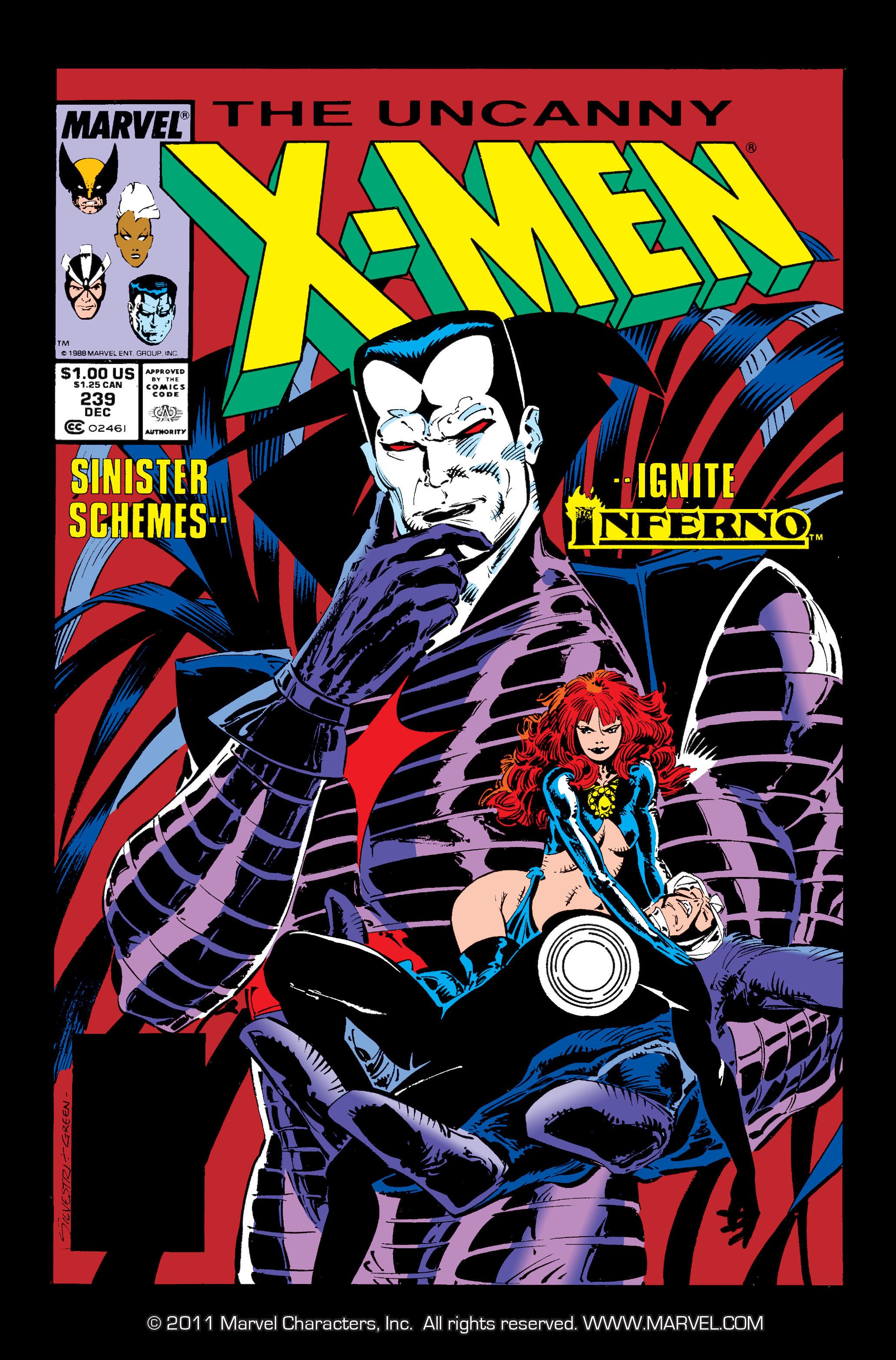 Read online Uncanny X-Men (1963) comic -  Issue #239 - 1