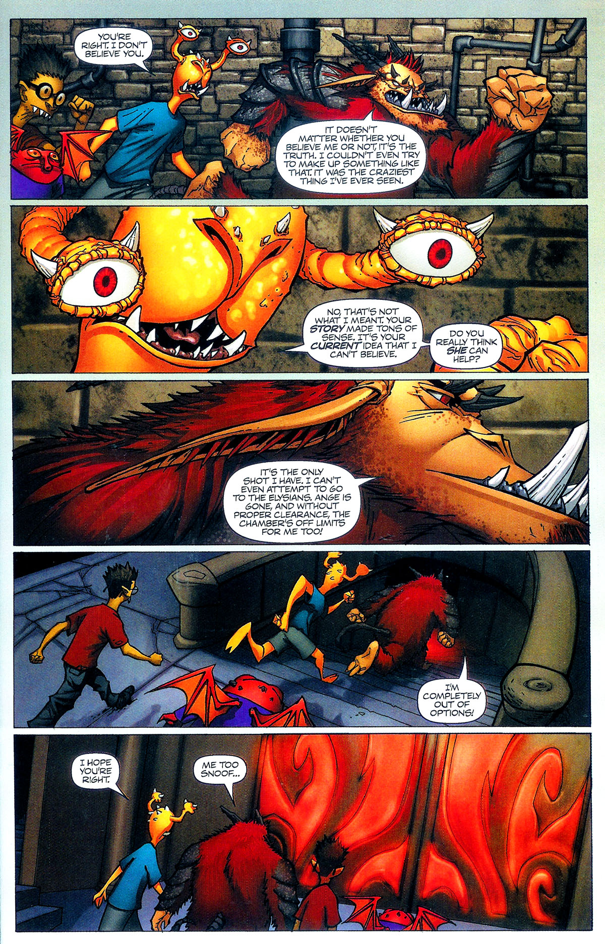 Read online Shrugged (2006) comic -  Issue #5 - 23