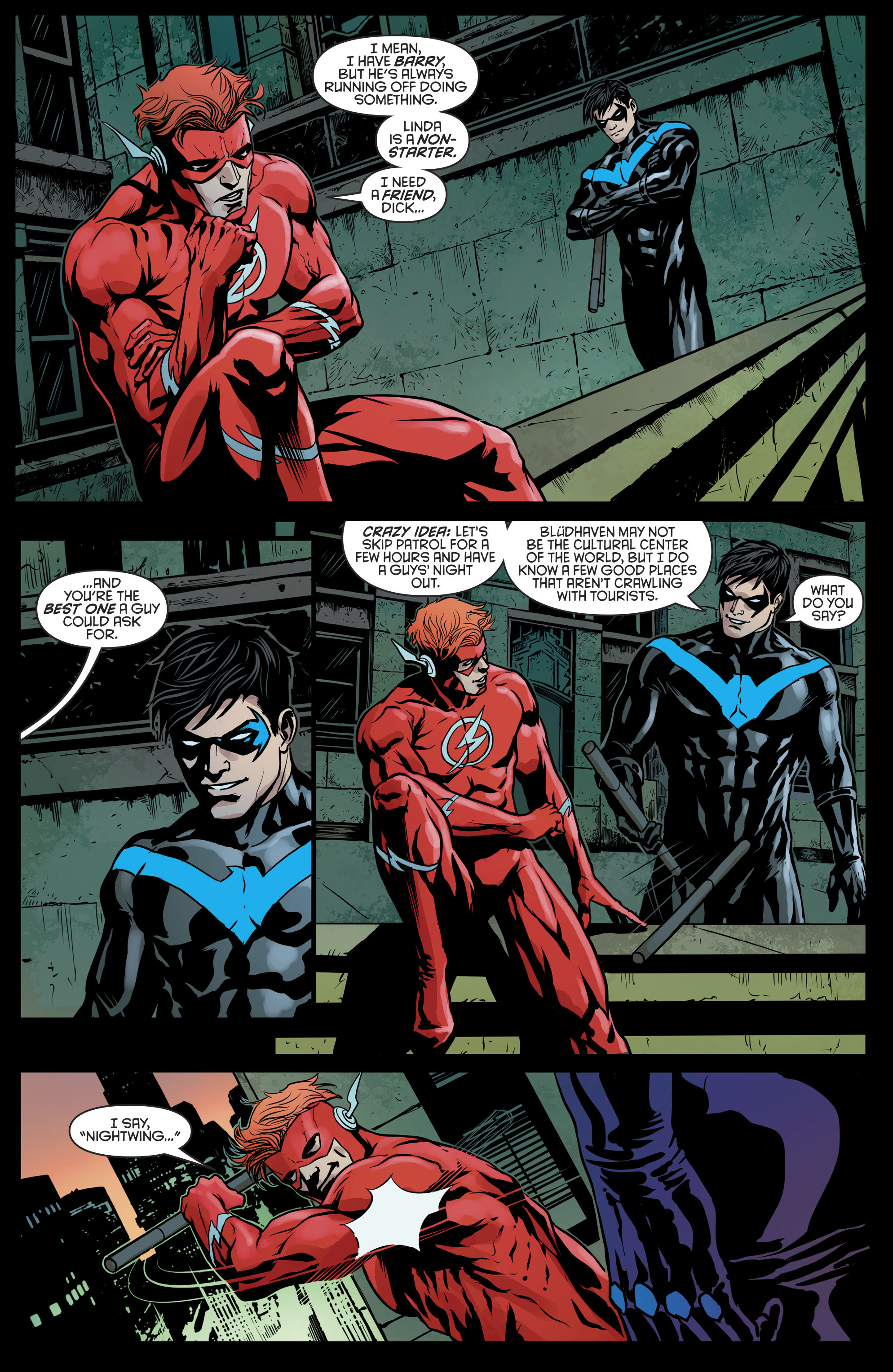 Read online Nightwing (2016) comic -  Issue #21 - 8