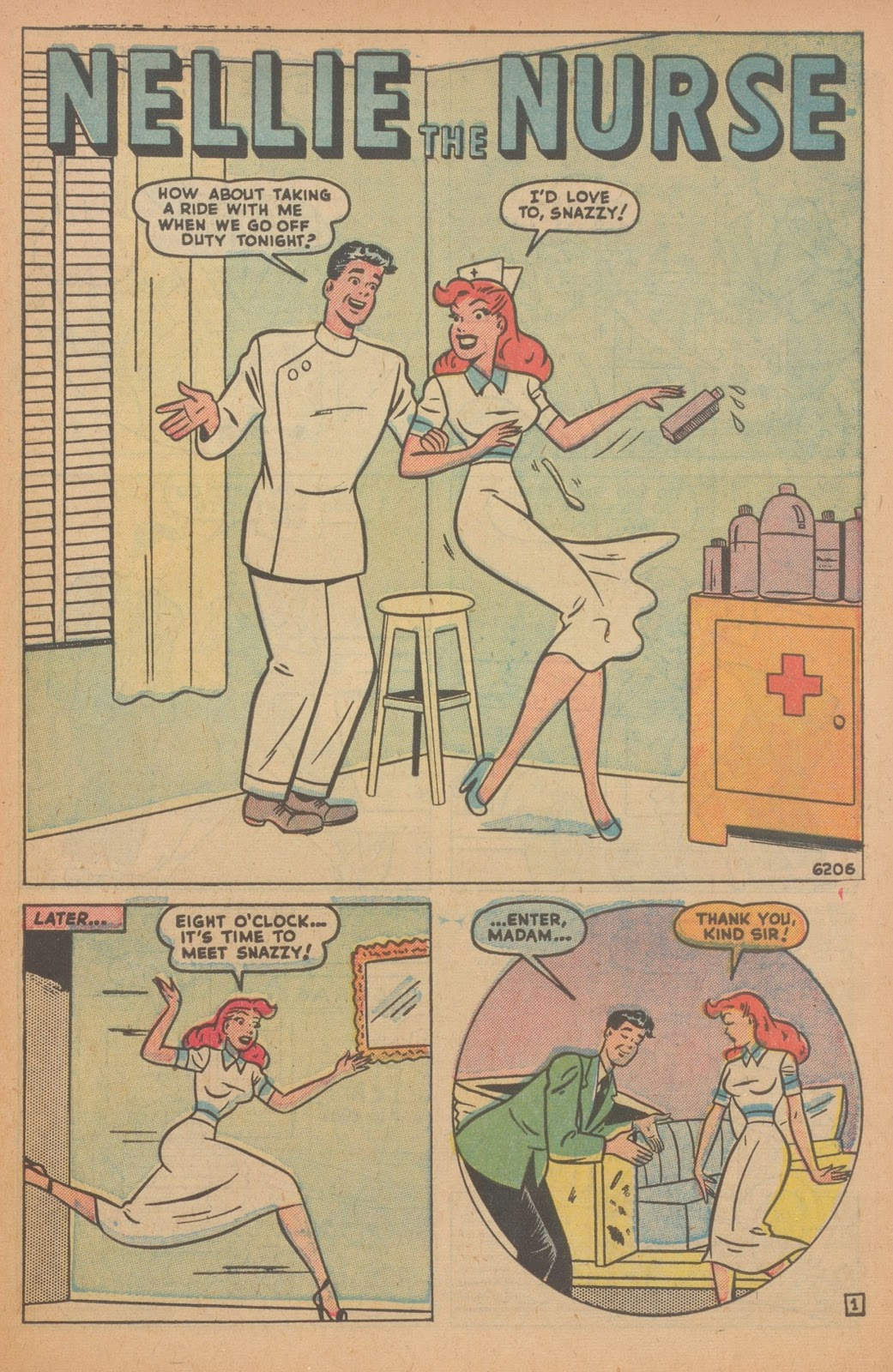 Read online Nellie The Nurse (1945) comic -  Issue #22 - 41
