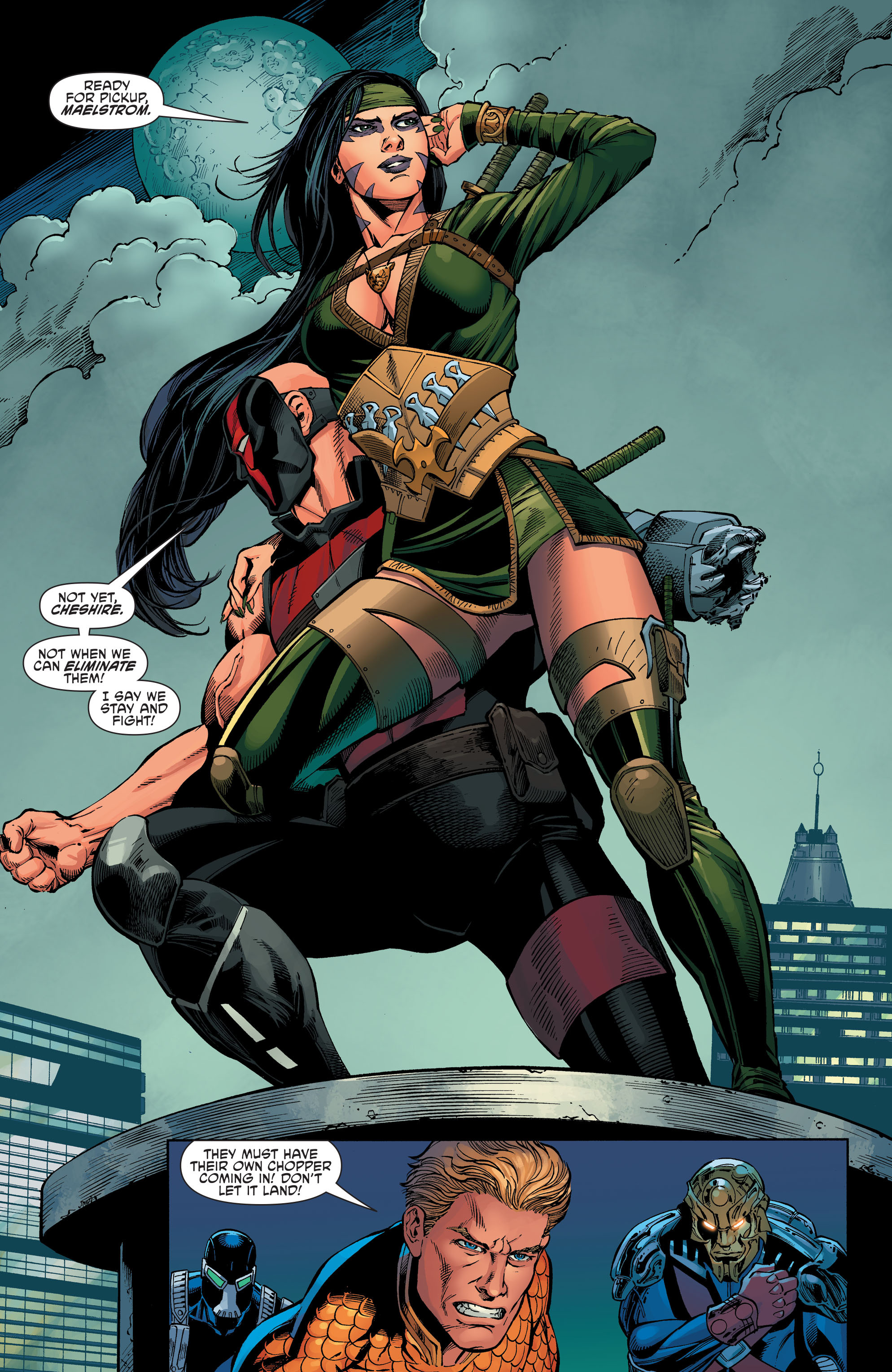 Read online Aquaman and the Others comic -  Issue #7 - 10