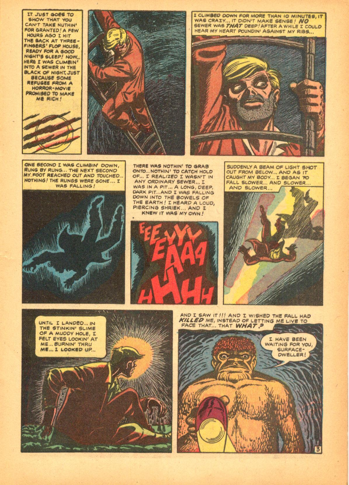 Read online Adventures into Weird Worlds comic -  Issue #3 - 5