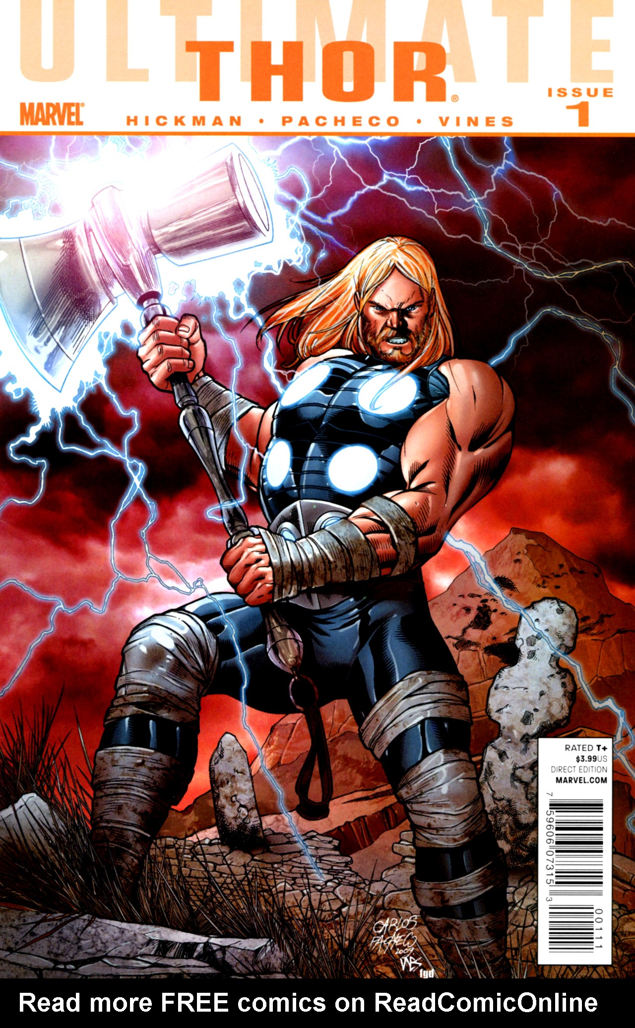 Read online Ultimate Thor comic -  Issue #1 - 1