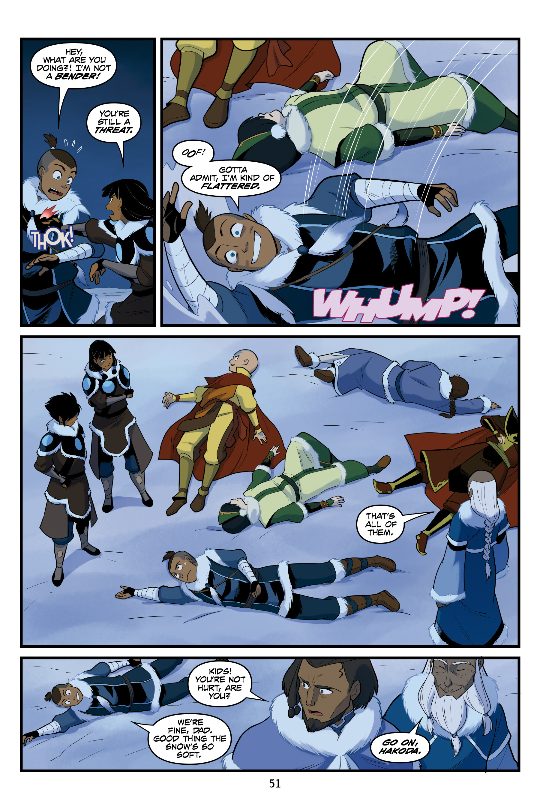 Read online Nickelodeon Avatar: The Last Airbender - North and South comic -  Issue #3 - 51