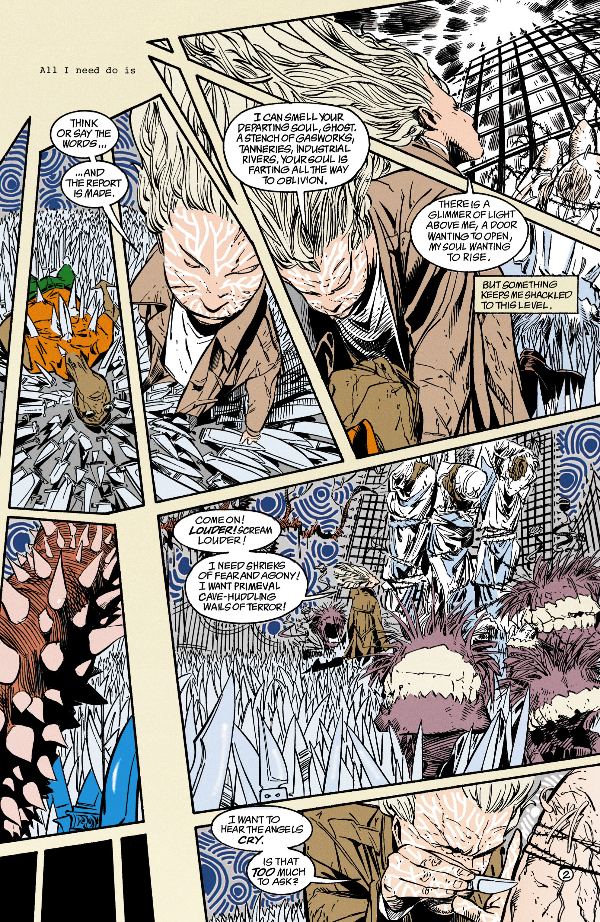 Read online Shade, the Changing Man comic -  Issue #35 - 3