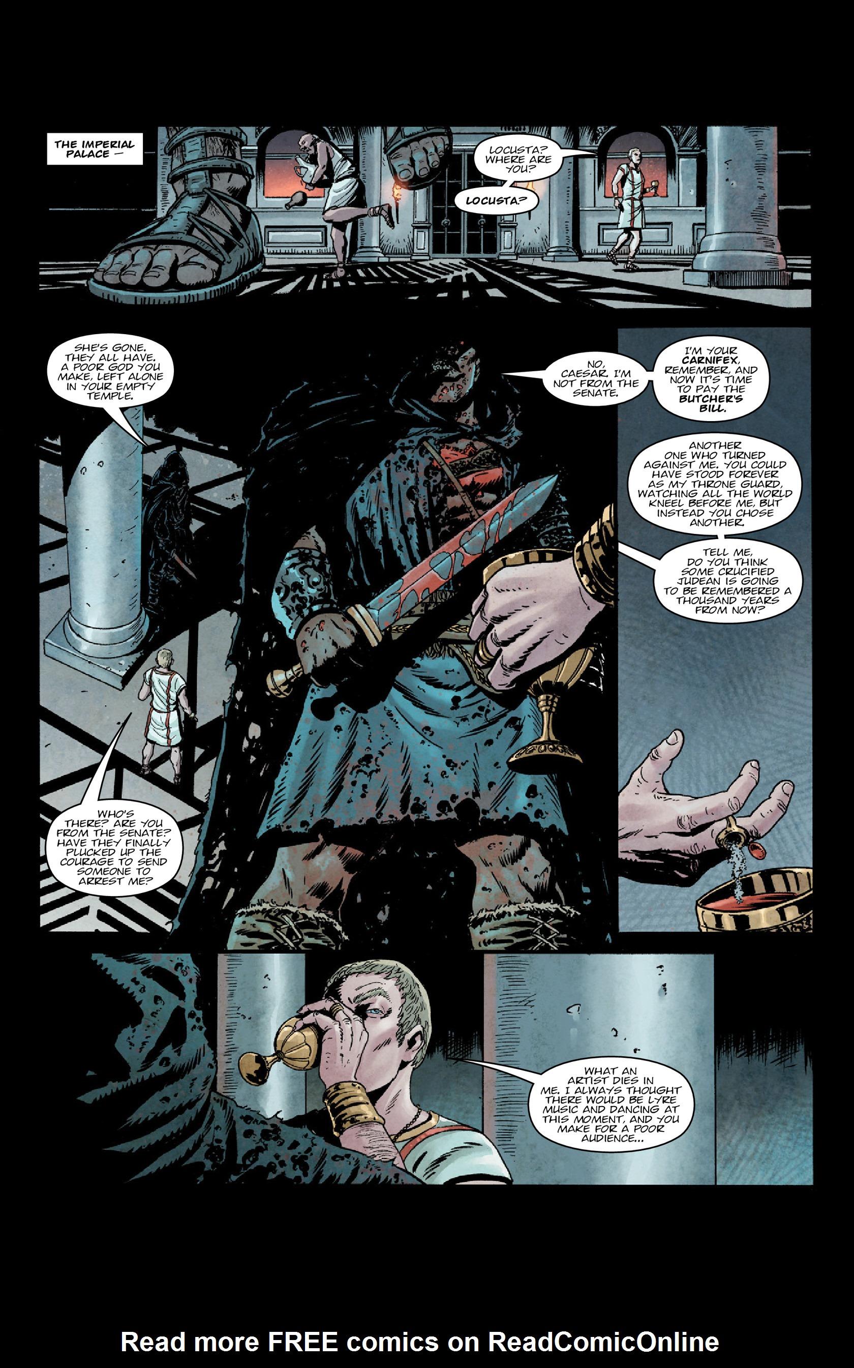 Read online Aquila comic -  Issue #5 - 24