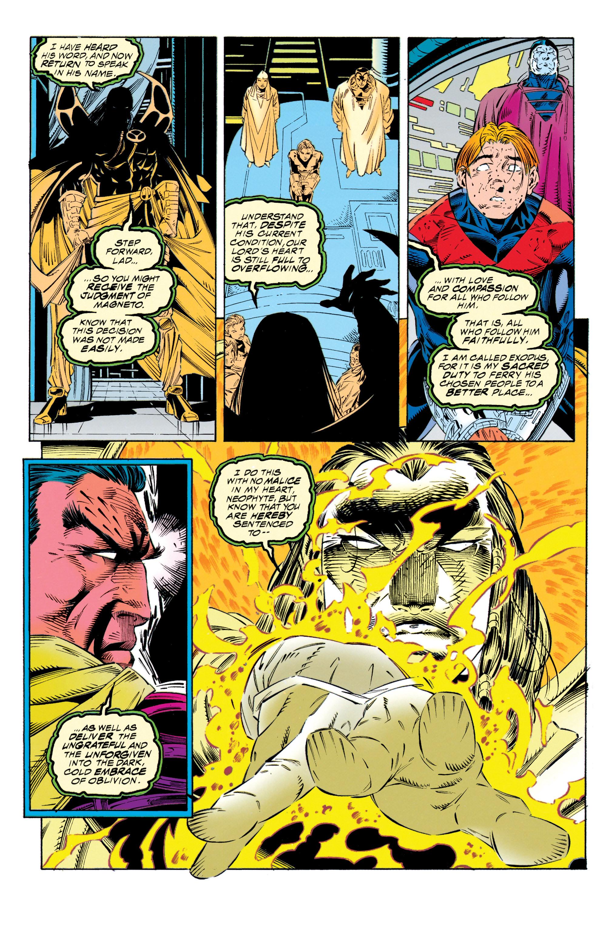 Read online Uncanny X-Men (1963) comic -  Issue #315 - 18