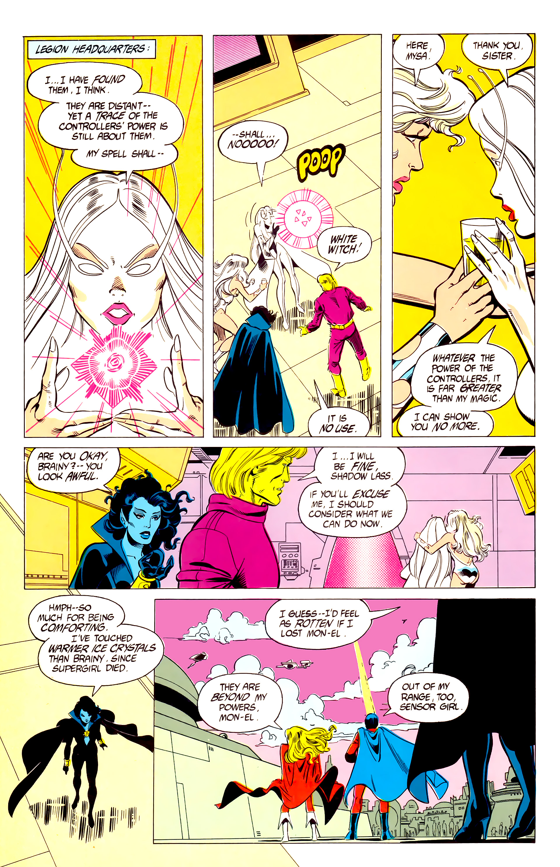 Legion of Super-Heroes (1984) 19 Page 13