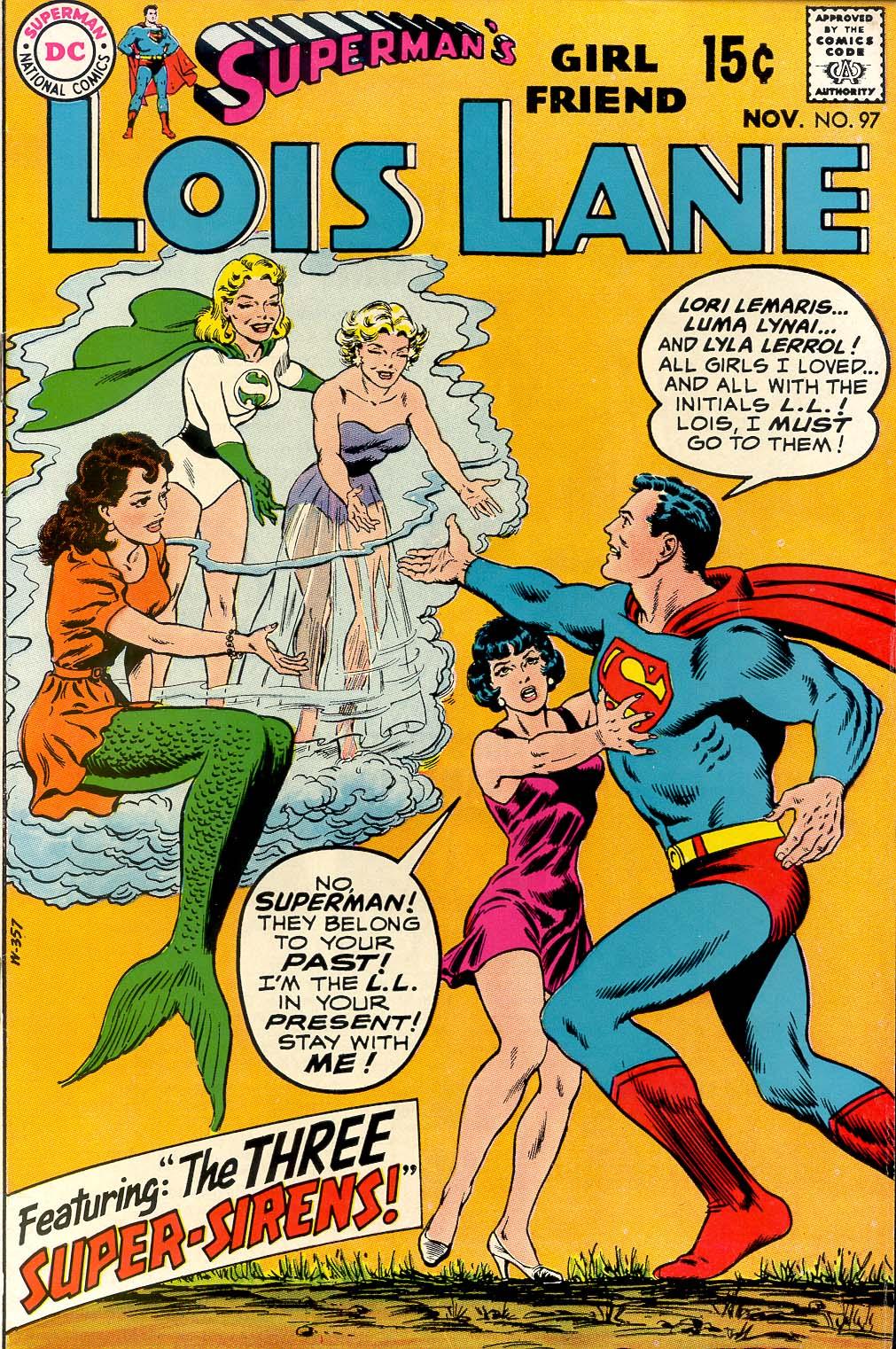 Supermans Girl Friend, Lois Lane 97 Page 1