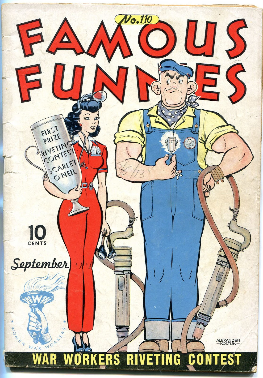 Read online Famous Funnies comic -  Issue #110 - 7