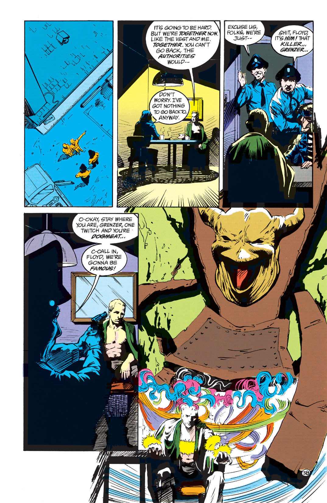 Read online Shade, the Changing Man comic -  Issue #1 - 40